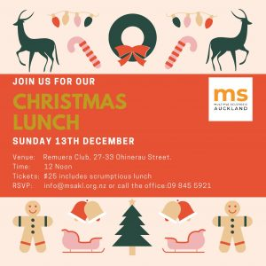 Invite with reindeers and Christmas wreaths